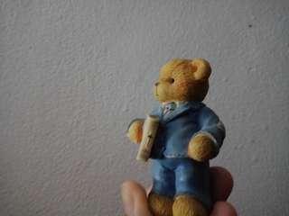 Pajangan antik boneka beruang import kanada canada (rohani)