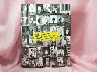 EXO K 1ST REPACKAGE ALBUM: GROWL (KR VER)