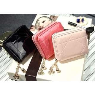 VM2708 Short Zipper Wallet