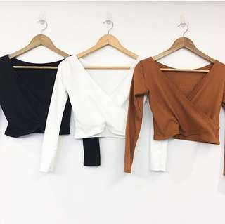F21 Wrap Up longsleeves top