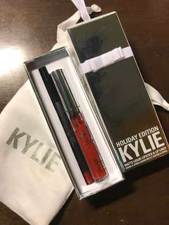 Kylie holiday edition - matte liquid lipstick & lip liner