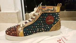 Christian Louboutin Python Sneakers Size 43