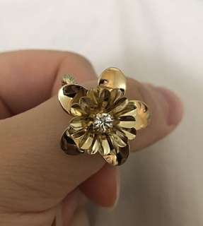 金花戒指 Golden Flower Ring 💍