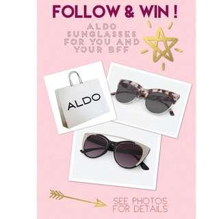 Win ALDO Sunglasses!