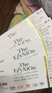 [Not For Sale] EXO Elyxion Ticket Purchase