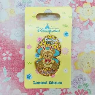 迪士尼襟章 2015 復活節 達菲 Disney Pin