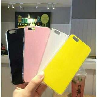 Plain phone case