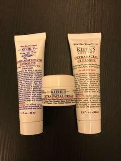 ❤️包平郵❤️Kiehl's ultra facial cleanser ultimate strength hand salve ultra facial cream