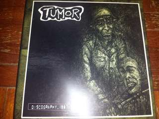 Music CD (4xCD): Tumor – Discography 1987-1995 - Grindcore, Noise