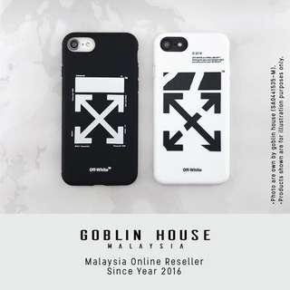 Off White Diagonal iPhone Case