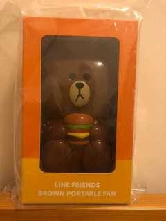 Line x 熊大 麥當勞 風扇 (只得一個 順豐到付)