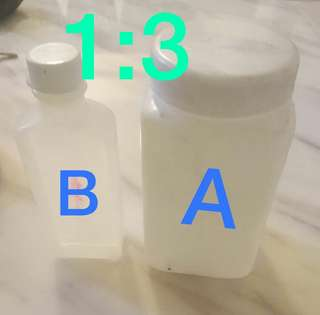 Ab混合膠