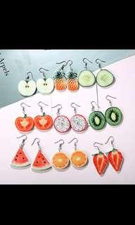 Fruit Earrings! SALE from USA..