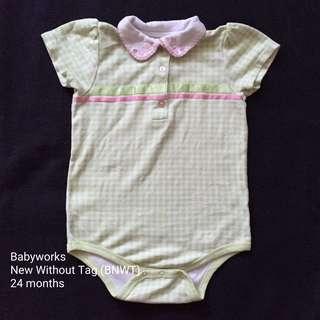 24M Babyworks Onesie