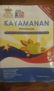 Grade 9 - Araling Panlipunan (Kayamanan - Ekonomiks)