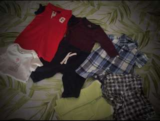 A bundle beautiful baby gap, great deal for 7 pieces