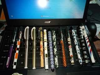 .5 Gel fancy design pen