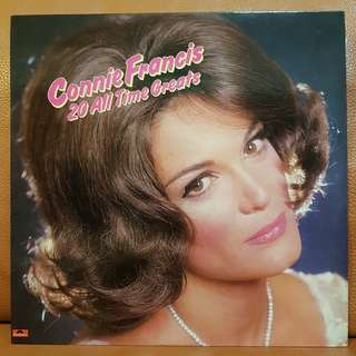Connie Francis - 20 All Time Greats Vinyl Record