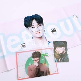 GOT7 JB Jaebum Matchpoint hologram slogan