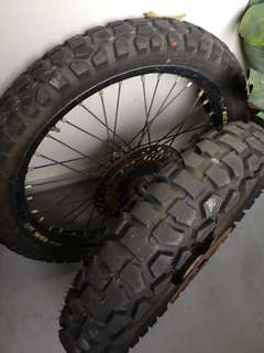 Offroad Excel Rim w/ Tyres.