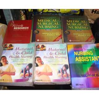 nursing medical books
