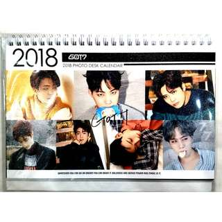 GOT7 Desk Calendar 2018 (Ready Stock)