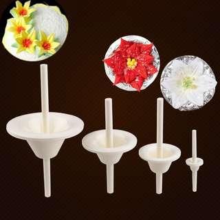 ▪4件組▪百合花針花托/百合花花托組合套裝/花瓣翻糖工具/糖花工具
