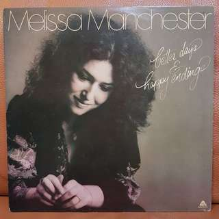 Melissa Manchester - Better Days & Happy Endings Vinyl Record