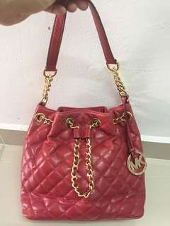 michael kors drawstring bag authentic