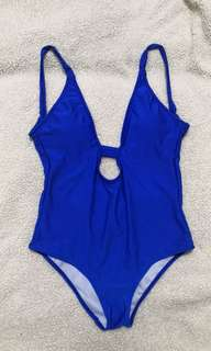 One-piece Navy Blue swimsuit