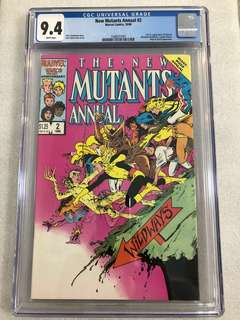 New mutants Annual 2 Cgc 9.4