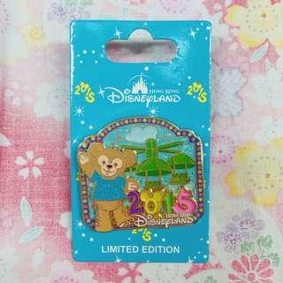 迪士尼襟章 2014 新年 達菲 Duffy Disney Pin