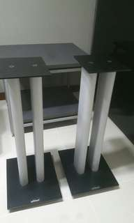 Solidsteel speaker stand made in Italy fill up with atabites