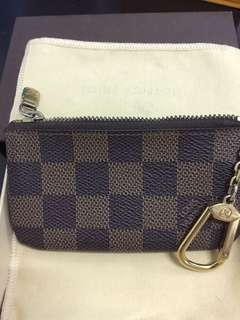 Pre-owned authentic key pouch