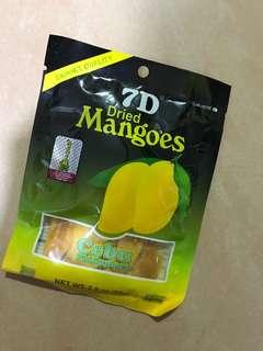 菲律賓7D芒果乾