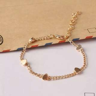 Korean Heart Bracelet