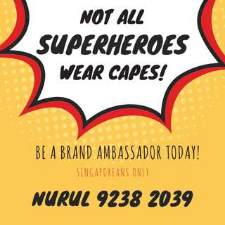NO EXPERIENCE REQUIRED; Brand Ambassador
