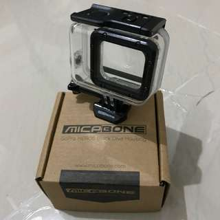 micabone gopro 5 6 case housing dive underwater