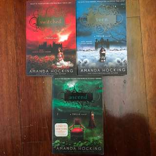 The Trylle Series Complete Collection/Set [Switched, Torn & Ascend] by Amanda Hocking