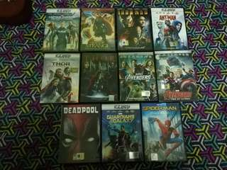 Marvel Movies DVD Original