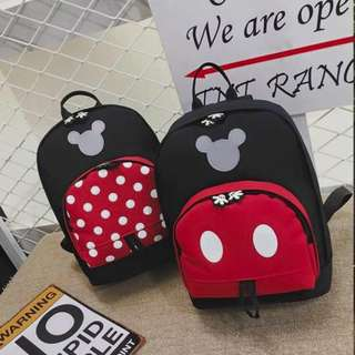 Minnie & Mickey Mouse Backpacks