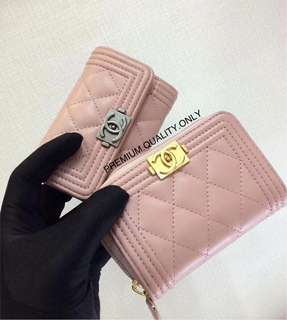 Chanel Leboy Zippy / flap card holder