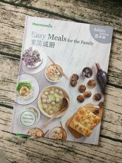 (instock) Easy meals for the family cookbook (Thermomix)