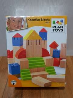 Plan Toys Creative Blocks 5527