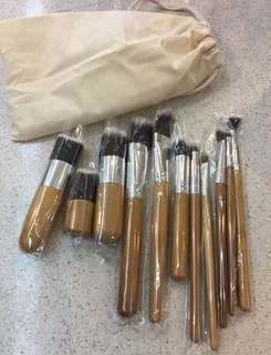 Make up brush set (11 pcs)