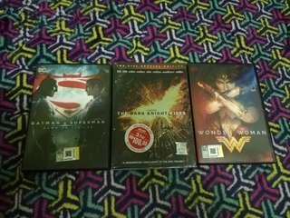 DC Movies DVD Original