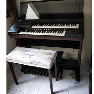 Yamaha Electone EL60 - Fully Functional with bench