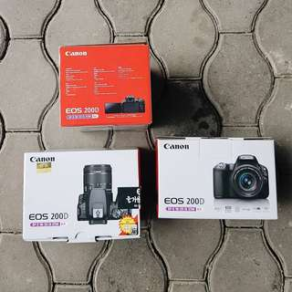 BRAND NEW Canon EOS 200D