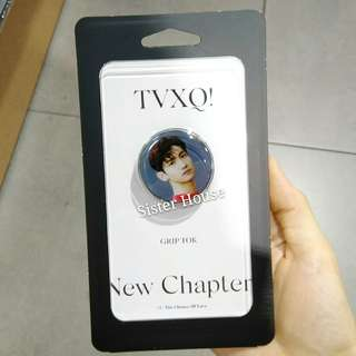 (包郵)🇰🇷TVXQ New Chapter Grip Tok 東方神起沈昌珉手機扣