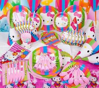 Hello kitty Party 16 items set